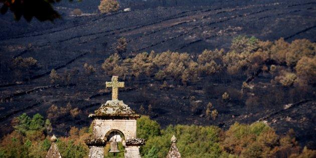 Quién quema Galicia y paraqué