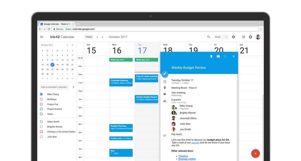 Google Calendar tiene nuevo diseño en la web y es simplementemaravilloso
