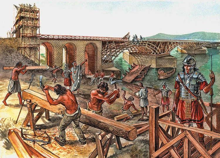 Apolodoro de Damasco y el Puente deTrajano
