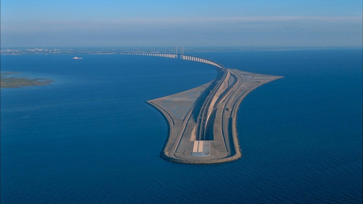 Así es el puente-túnel de Oresund, la increíble obra que une Suecia con Dinamarca y el resto deEuropa