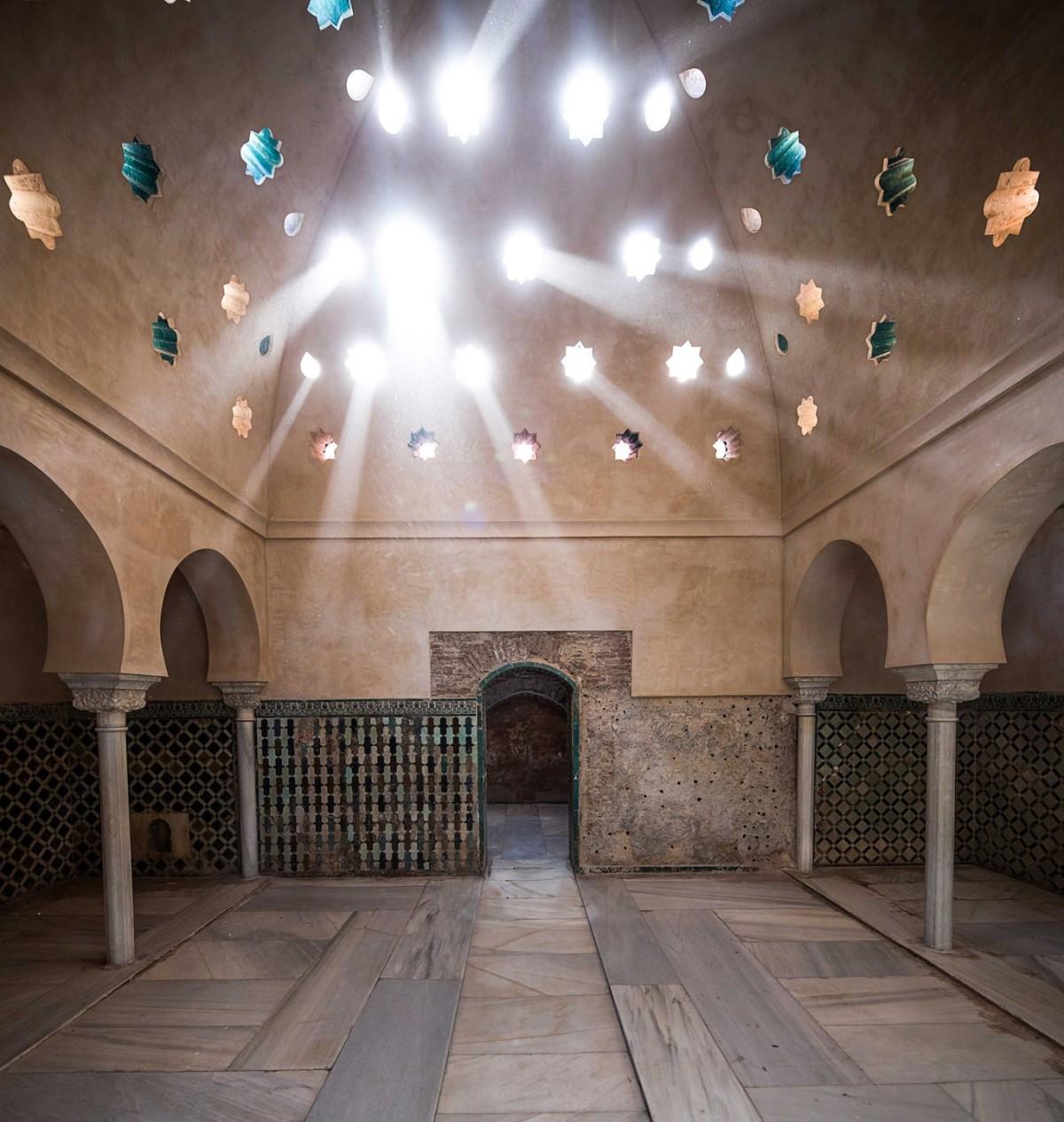 Abren al público el Baño Real de Comares en laAlhambra