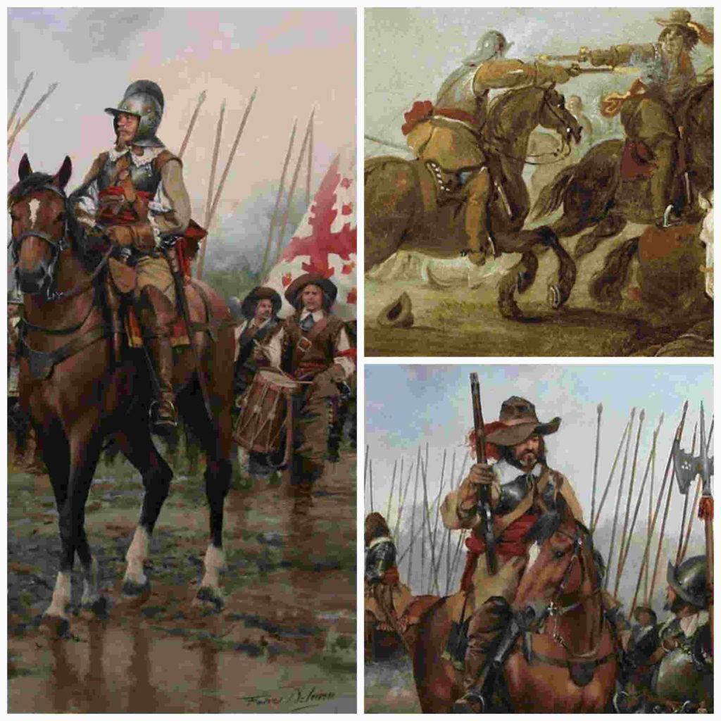 La caballería de los Tercios y la táctica de lacaracola