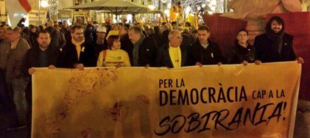 Mallorca es manifesta a Palma per l'autodeterminació